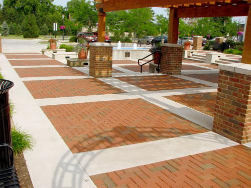 Commercial Outdoor Pavement Landscaping Columbus Ohio